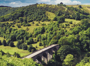 Monsal Dale Viaduct, Derbyshire